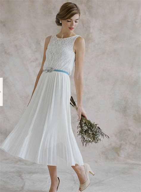 Stunning Design Second Marriage Wedding Dress Simple