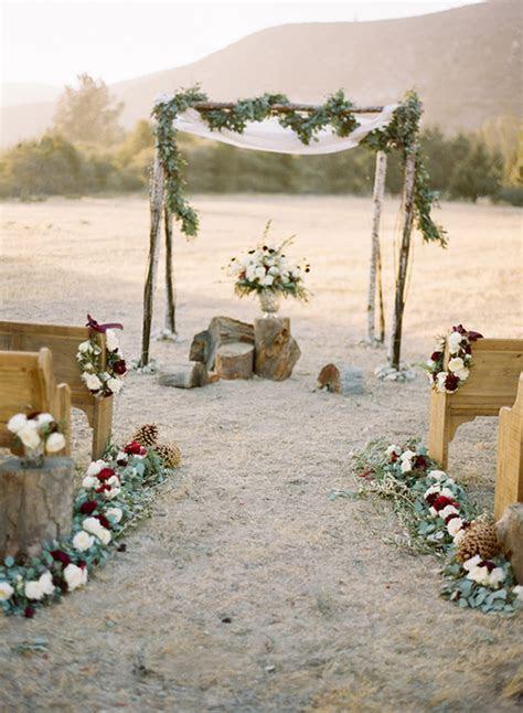 Rustic, elegant winter wedding inspiration   100 Layer Cake