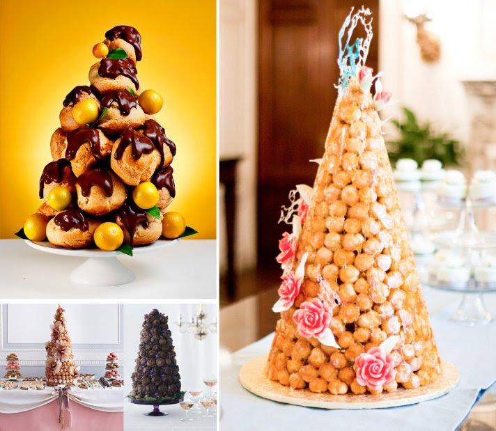 Tasty Wedding Cake Alternatives for a Unique Reception French weddings