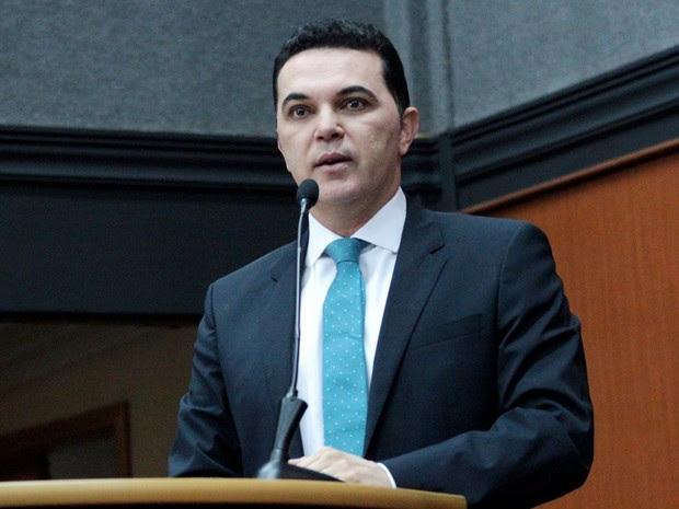 Jalser manifestou comentário na sessão ordinária (Foto: SupCom/ALE)