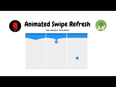 Animated Pull To Refresh Layout - Android Studio Tutorial (2021)