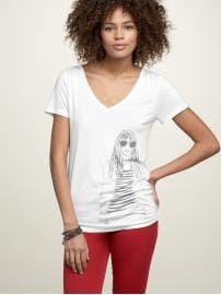 Gap Lady graphic T