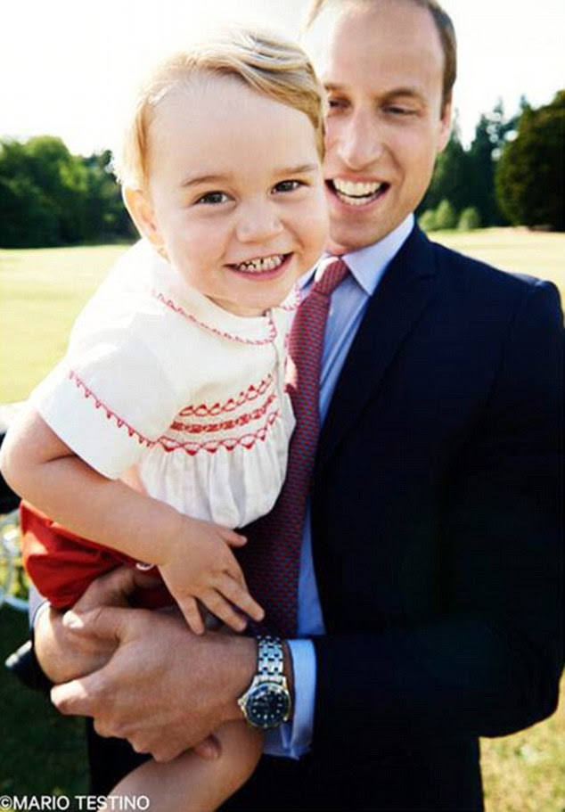 Nowe zdjęcie George'a / 2 dzień pary książęcej w Kornwalii.