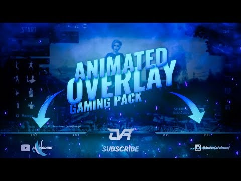 GAMING ANIMATED OVERLAY PACK 01 (2020)