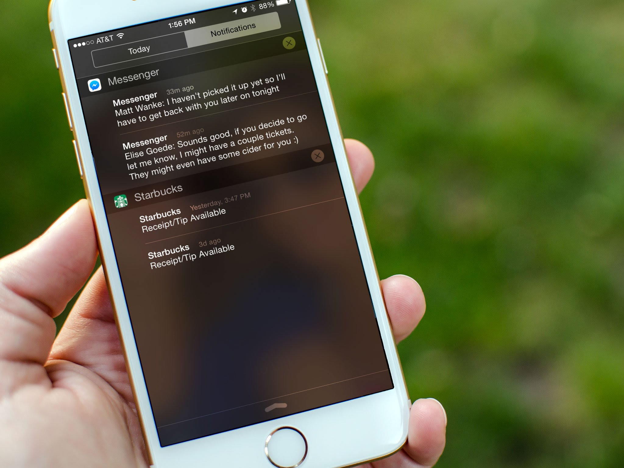 Need to disable Notification Center and Siri access from ...
