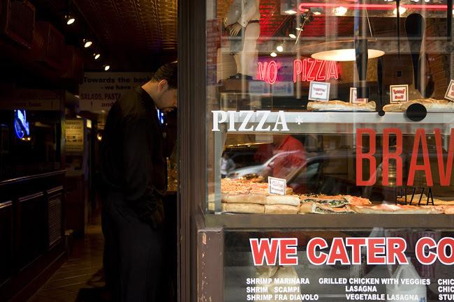 Pizza pizza, NYC