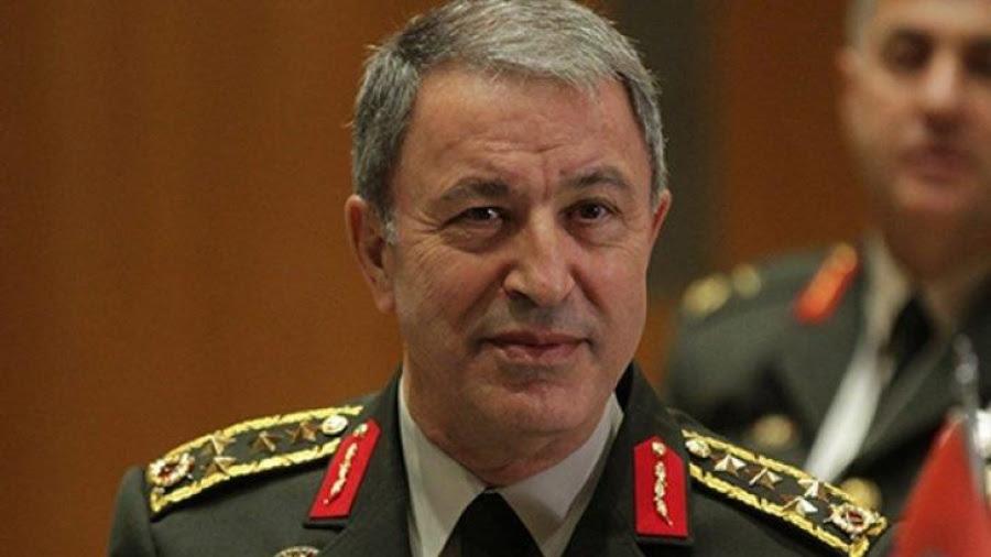 Akar (Τούρκος υπ. Άμυνας): Λαμβάνουμε μέτρα σε Αιγαίο και ανατολική Μεσόγειο - Δεν επιτρέπουμε τετελεσμένα