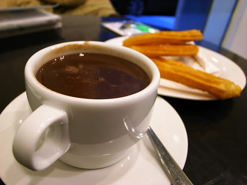 Chocolate con churros @Madrid