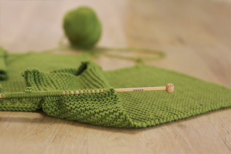 Green Knitting