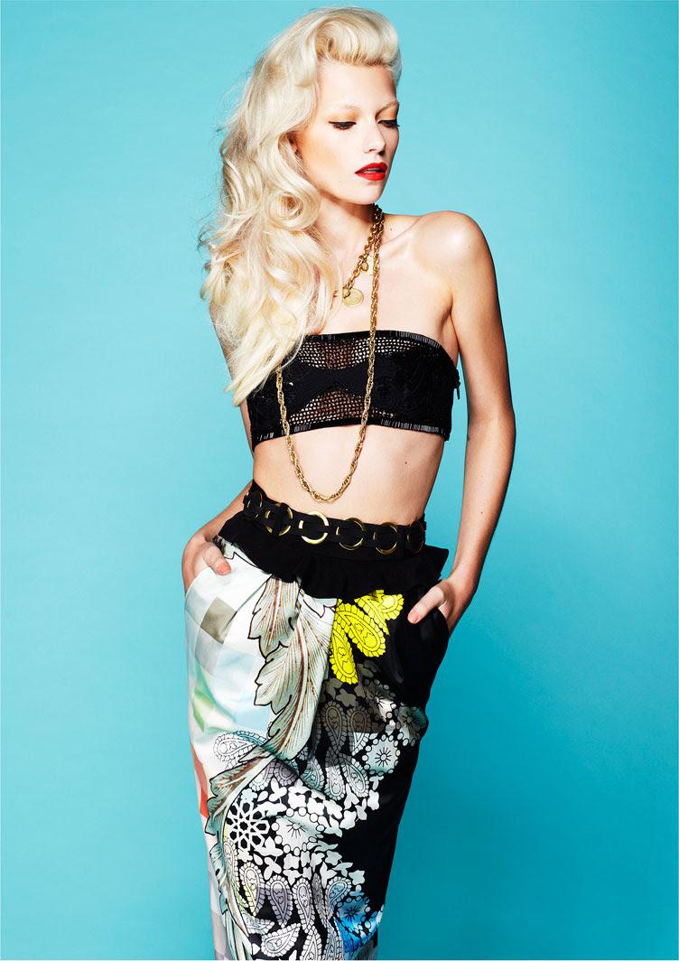 look1 Farah Holt por Daniel Nadel para Fashion Gone Rogue