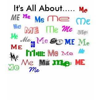 It's All About Me Tee shirt
