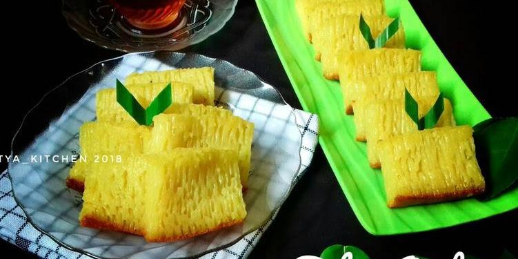 Resep Bika Ambon Khas Medan (Legit Pakai Teflon) Oleh Tya's Kitchen