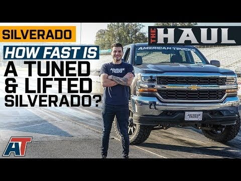 How Fast Is a Tuned & Lifted Silverado? | Tuned Silverado Takes on the Drag Strip