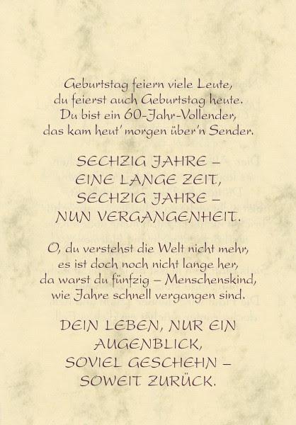 Geburtstag Wunsche 60