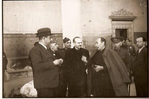 Serrano Súñer en Toledo (Fotofrafía Rodríguez)