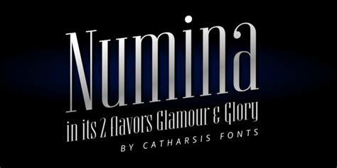 numina font  font typeface typography