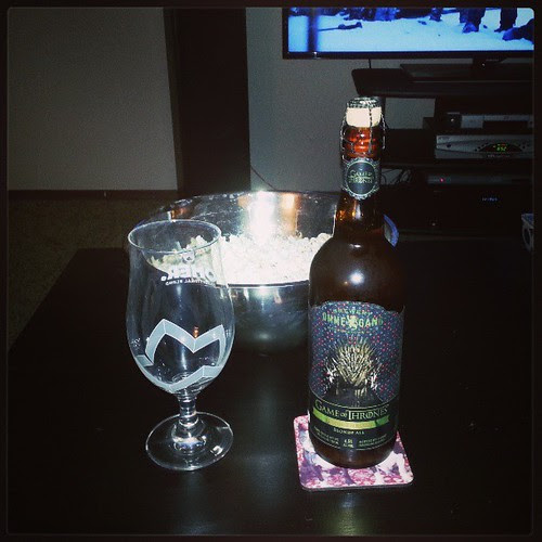 So ready for Game of Thrones! #ommegang #GameofThrones