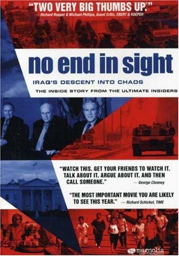Resultado de imagem para no end in sight 2007 poster
