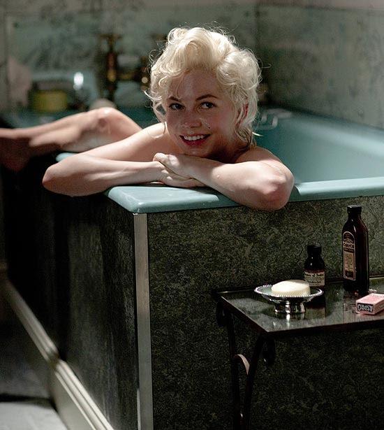 """Atriz Michelle Williams em cena do filme """"Sete Dias Com Marilyn"""", que teve estreia no Brasil adiada para março"""