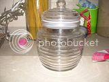 Apron Day honeycomb jar