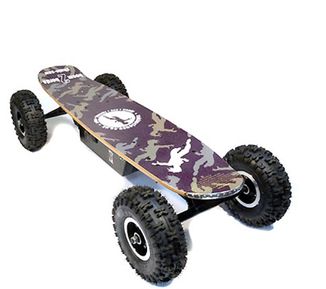 Off Road Electric Skateboard \u2013 30MPH!  GadgetKing.com