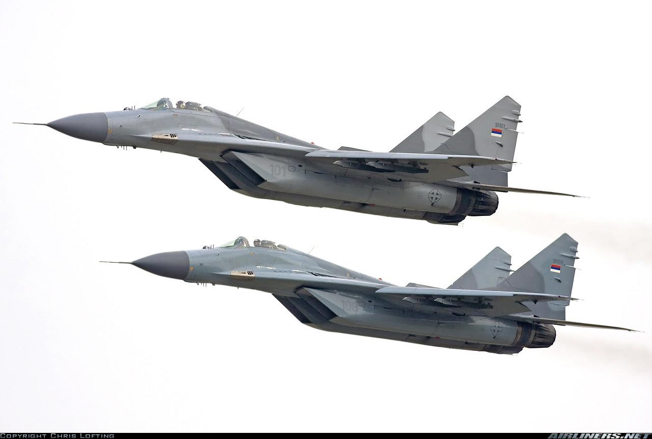 [FA] Fuerza y Defensa Aérea de Serbia