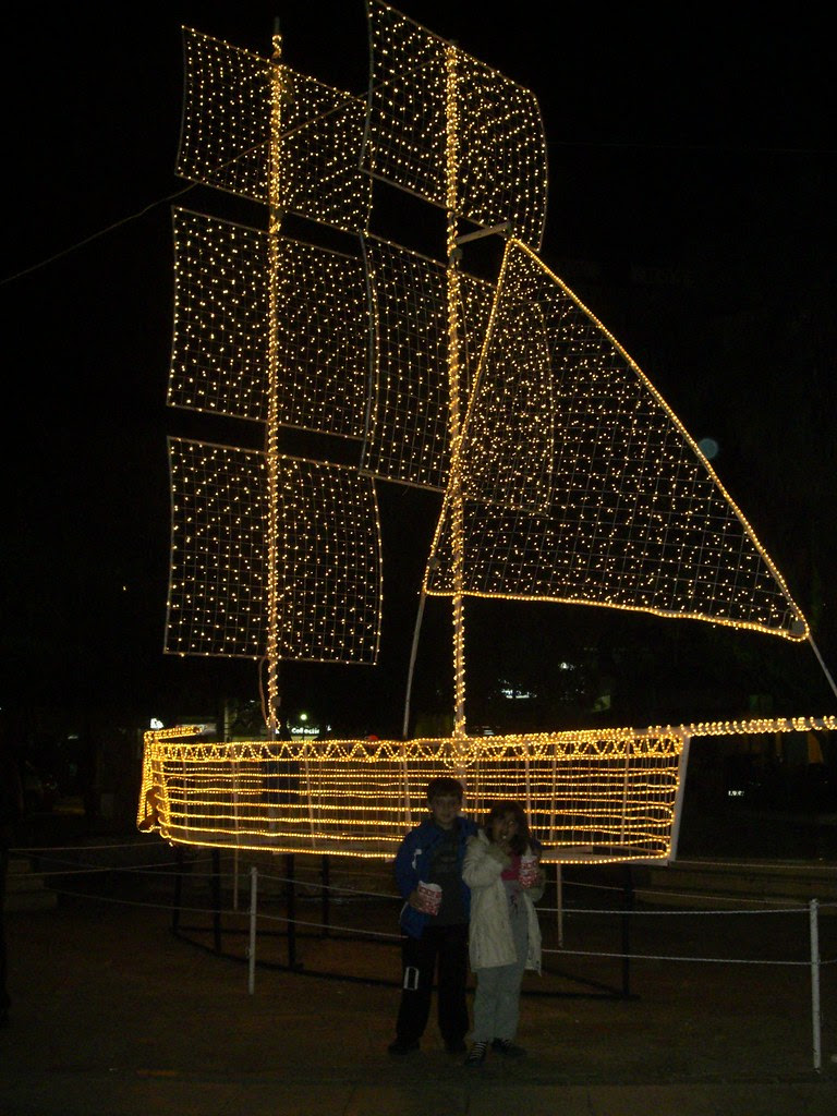 boat greek christmas symbol