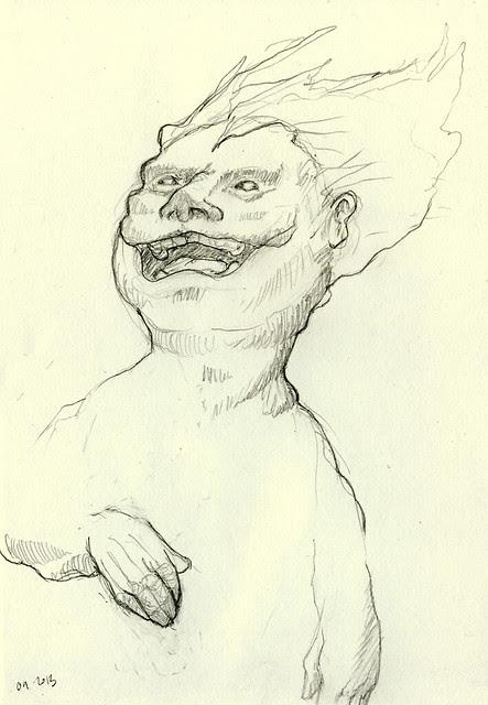Laughing demon