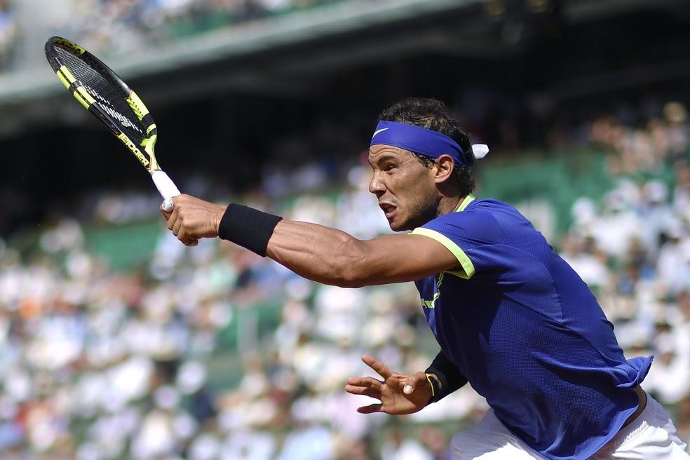 Rafael Nadal vence Robin Haase em Roland Garros (Foto: Eric FEFERBERG / AFP)