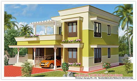 kerala contemporary house design   sqft