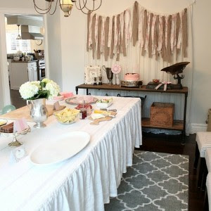 Southern Charm Ruffled Tablecloth