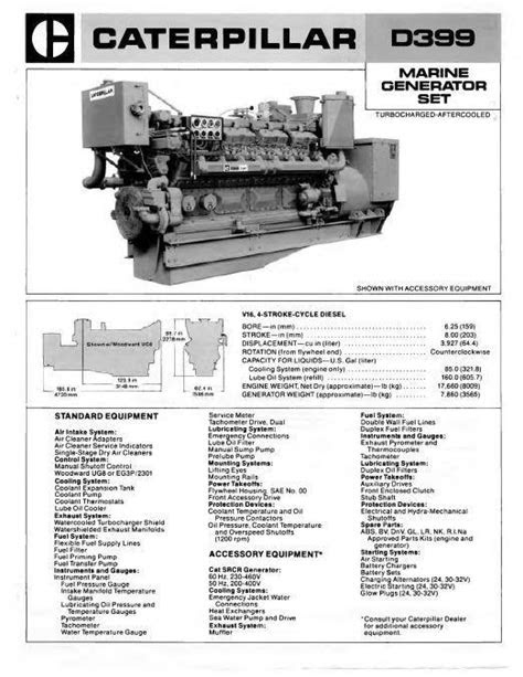 CAT D379, D398 and D399 manuals, spec sheets, bolt torques