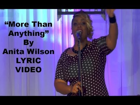 I Love You Jesus Lyrics Anita Wilson