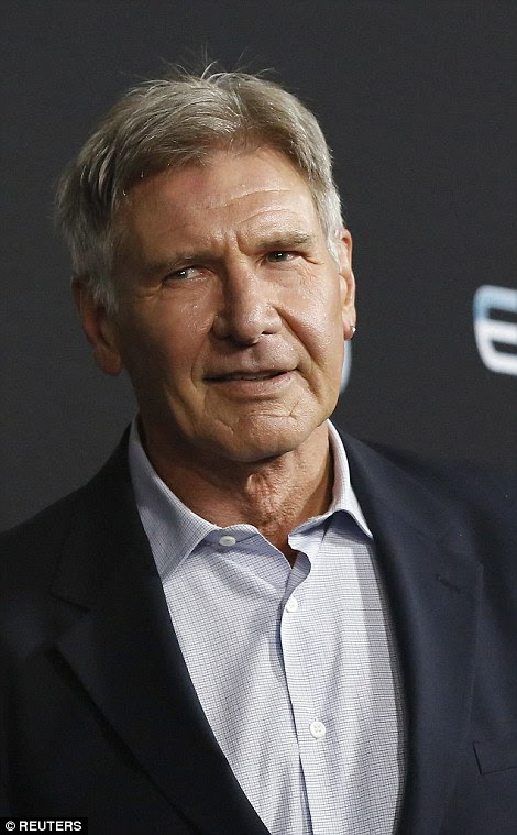 Injury prone: Thursday's crash comes just months after Ford, 72, was airlifted from the set of the new Star Wars movie for an ankle injury