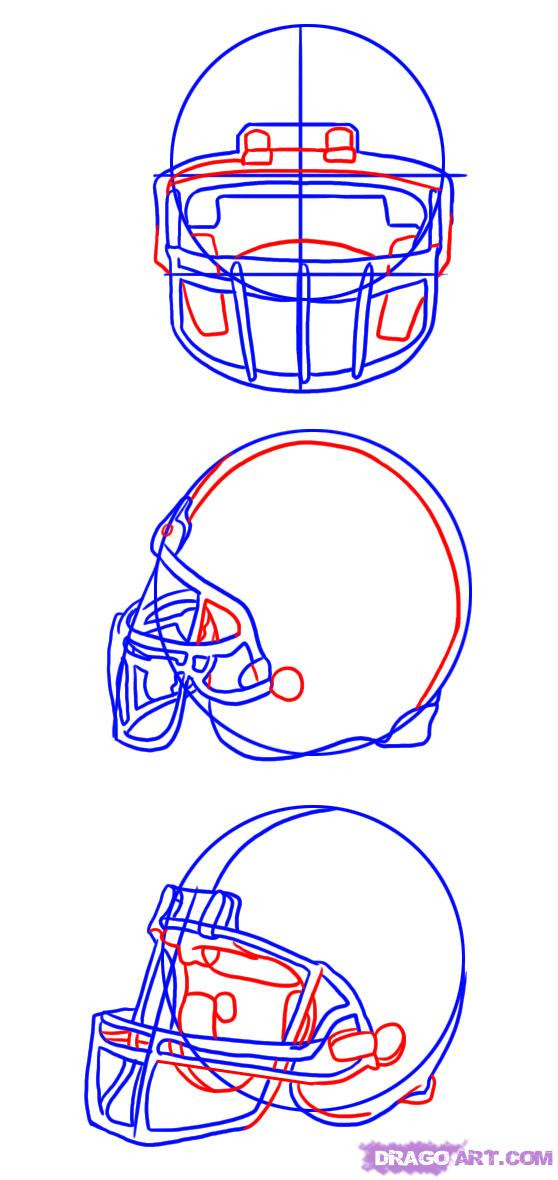 Free How To Draw A Nfl Helmet, Download Free Clip Art, Free Clip Art on Clipart Library