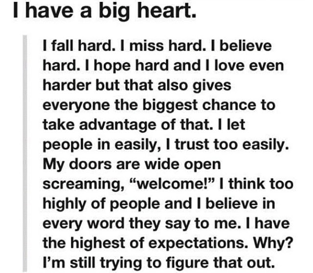 Quotes About Big Hearts 52 Quotes