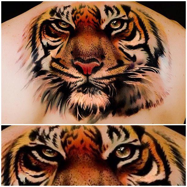 Eyes Of Tiger Realistic Tattoo Best Tattoo Ideas Gallery