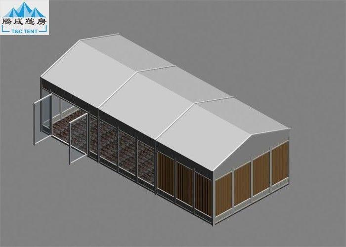 10x40m Besar Gudang Tenda Dengan Pvc Putih Sidewalls Penyimpanan Industri Tenda