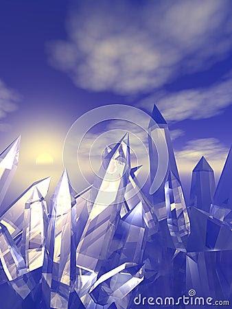 Pictures Of Quartz Crystals. QUARTZ CRYSTALS (click image