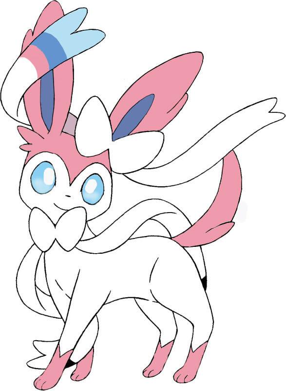19 Inspirant Dessin Pokemon Nymphali