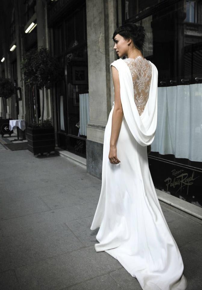 vestido largo espalda de encaje