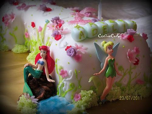 raisya adelia's garden cake