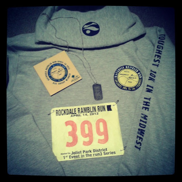 Rockdale Ramblin Run 10 K
