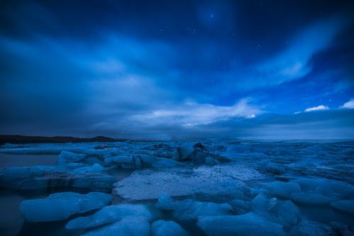 azul y el infinito