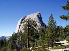 half dome from the back