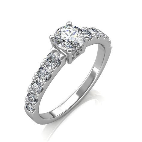 0.90 carat Platinum   True Love Engagement Ring at Best
