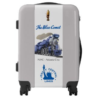The Blue Comet Luggage