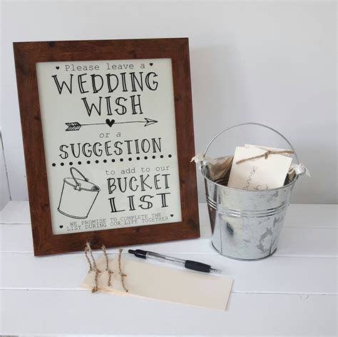 This wedding bucket list idea is a great alternative to a