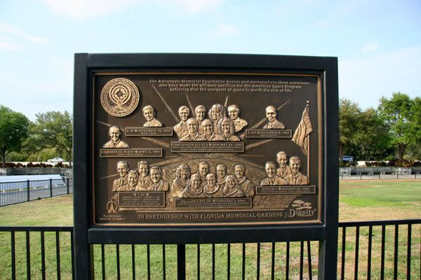 The Astronaut Memorial in Florida.