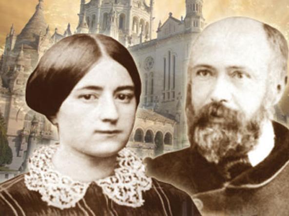 I due coniugi in una elaborazione fotografica